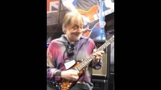 "Elliott Randall playing ""Reelin' in the Years"" on a Rambler Travel Guitar"