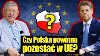 MÓJ SUBSKRYBOWANY KANAŁ – Czy Polska powinna pozostać w UE? Mirosław Piotrowski i Stanisław Krajski