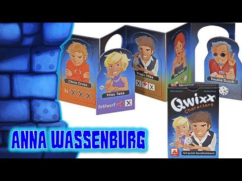 Qwixx Characters with Anna Wassenburg