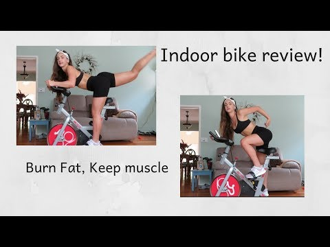 ANCHEER BIKE REVIEW! INDOOR RIDING! COME RIDE WITH ME!
