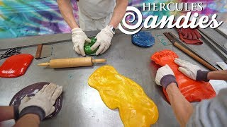 We Make Fruit Punch Flavored Tie Dye Hard Candy! (First Time!)