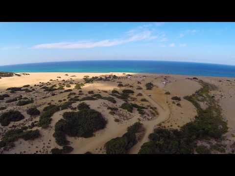 piscinas DRONE phantom Sardegna on Fly