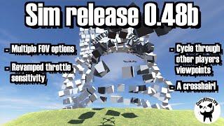 CurryKitten FPV Sim 0.48b release - finally an FOV option!