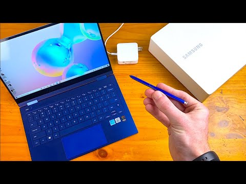 External Review Video q-D82U7L-sI for Samsung Galaxy Book Flex 13 & 15 2-in-1 Laptops