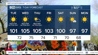 More hot temperatures ahead