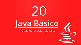 20. Variables Locales y Globales | Curso Java Basico | Eclipse