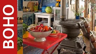 65 Colorful Boho Chic Kitchen Designs | Interior Design