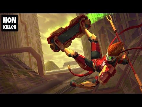 HoN Monkey King Gameplay - MechaKing - RazZlak - 2087 MMR