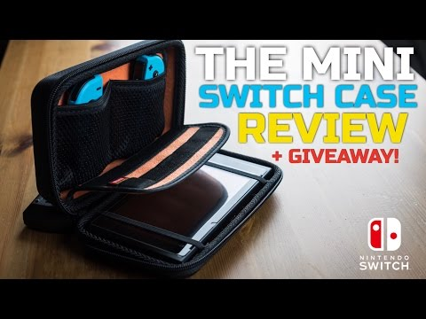 The Mini Switch Case – Hard Travel Carrying Case Review + GIVEAWAY!
