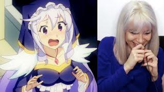 Eris  - (Konosuba: God's Blessing on this Wonderful World!) - What do you think about ERIS? | KONOSUBA! Episode 7 Full Reaction with Timer | Animaechan