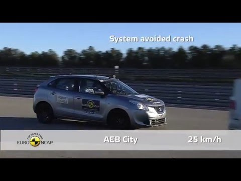 Euro NCAP Crash Test of Suzuki Baleno 2016