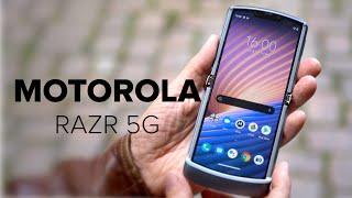 Falthandy endlich in Deutschland erhältlich   Motorola Razr 5G im Hands-On   Computer Bild [deutsch]