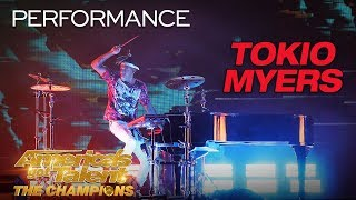 "Tokio Myers: Cool Musician Performs ""Bloodstream"" - America's Got Talent: The Champions"