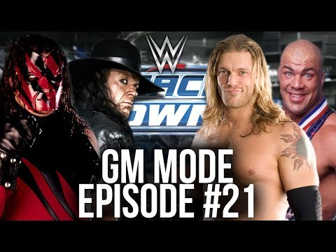 WWE Smackdown vs Raw 2007 GM Mode -