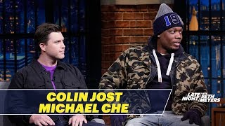 Colin Jost Talks About the Bizarre Rejected SNL Sketch He Wrote for Seth