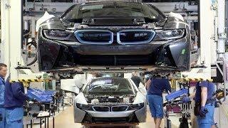 Смотреть онлайн Как создается BMW i8 на заводе