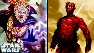 Why Darth Bane Would NEVER Let Maul Use the Lightsaber Form Taught by Sidious! (Legends)