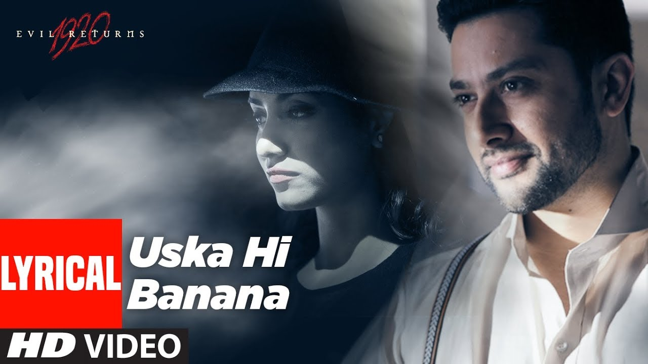 Uska Hi Bana Hindi lyrics