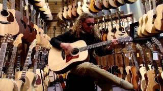 Playing live in a music store near Haight/Ashbury in SF