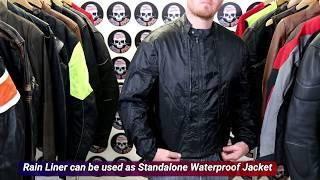 Men's Dallas Mesh Motorcycle Jacket