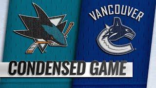 02/11/19 Condensed Game: Sharks @ Canucks