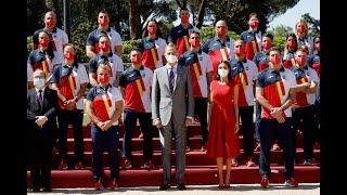 Audiencia al equipo olímpico español participante en los Juegos Olímpicos de Tokio