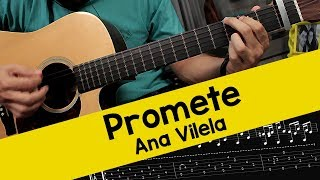 Ana Vilela - Promete - (Guitar Cover)