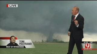 News9 Live Tornadoes on May 9, 2016 (Wynnewood, Katie, Sulphur, Stillwater Tornados)