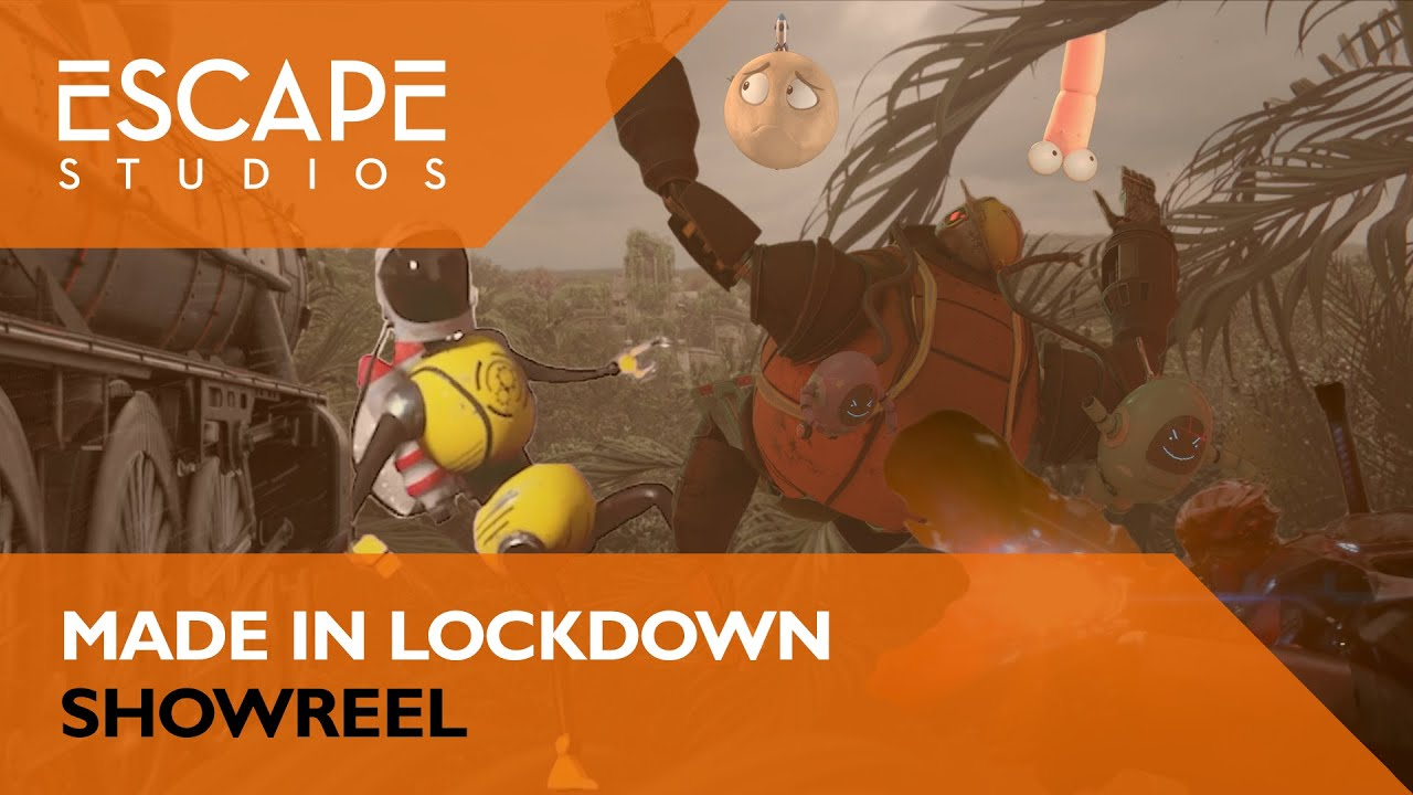 Made in Lockdown. Escape Studios Showreel.