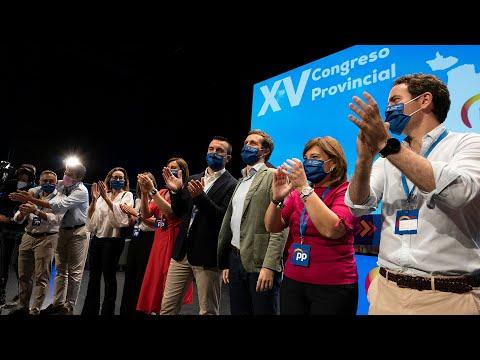 Pablo Casado clausura el XV Congreso del PP de Valencia