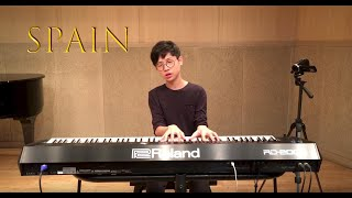Spain (Chick Corea) - Playing by yohan Kim