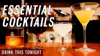 4 Must-Know Cocktail Recipes for Home Bartenders