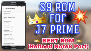 S8 ROM for J7 PRIME / XenOS / ANDROID 8 0 OREO Apps and