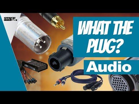 Kabel und Stecker im analogen Audiobereich (XLR, Cinch, Klinke, SpeakOn) | stage.basic