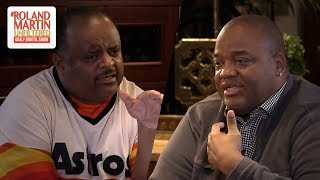 Roland Martin & Jason Whitlock Battle Over Politics & If African Americans Should Vote