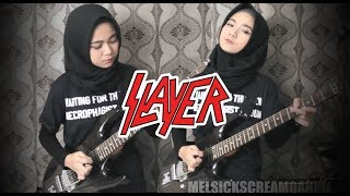 "SLAYER - ""RAINING BLФФD"" [Guitar Cover + TIPS by Mel]"