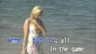 It's All In The Game karaoke