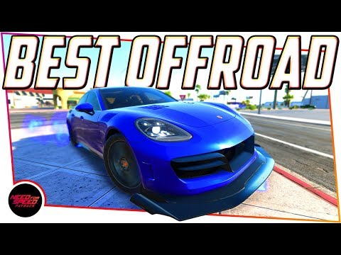 Need For Speed Payback Best Offroad Car - PORSCHE PANAMERA