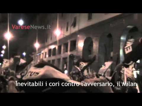 Juve, la festa a Varese