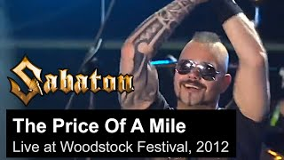 SABATON   The Price Of A Mile (Live At The Woodstock Festival In Poland, 2012)