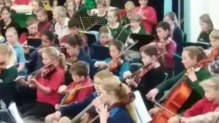 H.B Primary & Intermediate School's Orchestra play Rondo