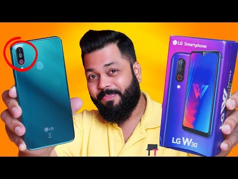 LG W30 Unboxing & First Impressions ⚡ Best Triple Camera Smartphone Under ₹10,000?