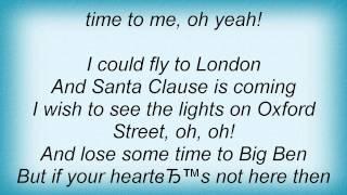 Jordin Sparks - Christmas Time To Me Lyrics