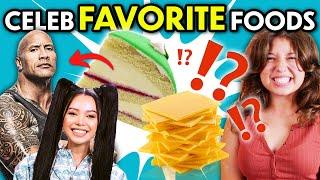 Trying Celebrity Cheat Meals! (Billie Eilish, Simone Biles, Zendaya, Emma Stone, Bella Poarch)