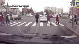 Водитель быстро разобрался с наглючим хамом