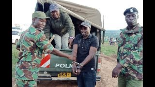 MP Ngeno arrested at Kimogoro center for holding  a meeting without a