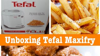 Unboxing Tefal Maxifry (Tefal Deep Fryer)