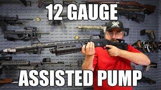 """RZ17 Tactical 18.5"""" Pump Action 12GA Shotgun"""
