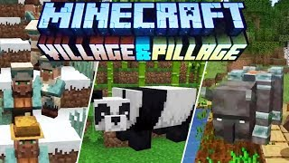 Minecraft 1.14 & 1.15 News : Village & Pillage Update! Panda