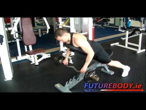 Incline Bench Barbell Row